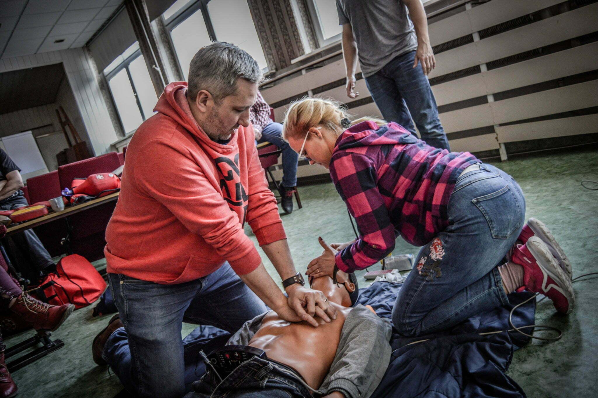 Kurs pierwszej pomocy, reanimacja na fantomie