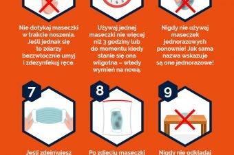 Jak używać maseczki ochronnej?