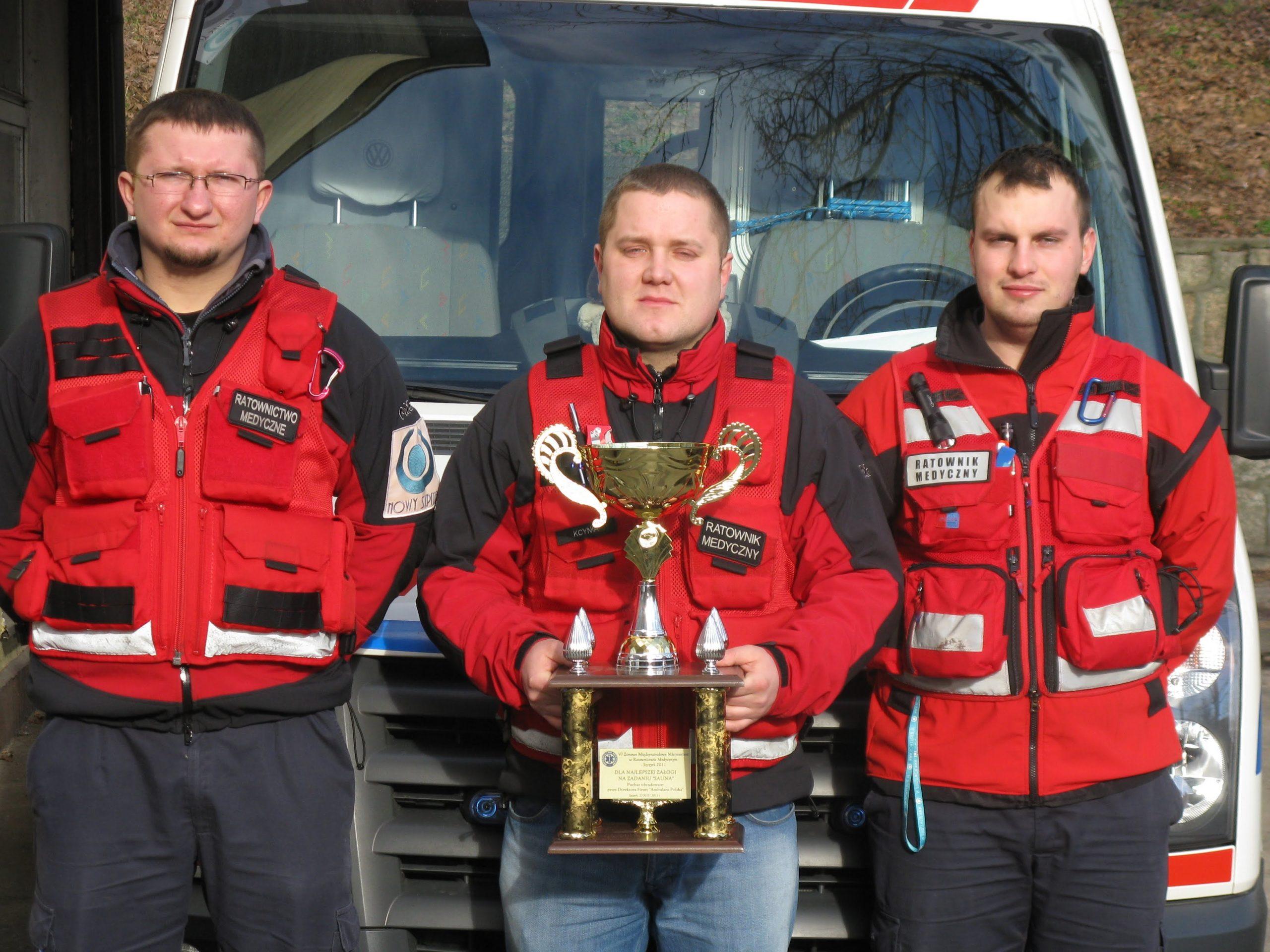 Udział w VI Otwartych Mistrzostwach Śląska w Ratownictwie Medycznym Jura 2011 i zajęcie 2 miejsca